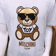 G&H精品服飾 Moschino燙金墨鏡熊