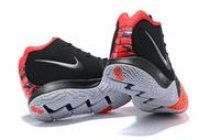 Fashion Nike_Kyrie Irving 4 Black History Month(BHM) White Red Sport MEN Basketaball Shoe Hot