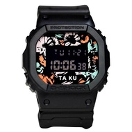 Casio G-Shock DW-5600TAKU-1DR Digital Quartz Black Cloth Mens Watch