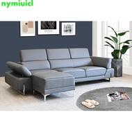 威爾森L型皮沙發 灰色 L型沙發 頭部可調整 摩登沙發 復刻版沙發 造型沙發 簡約時尚 非 ikea
