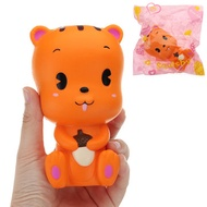 Squirrel Squishy 13*7.5CM Slow Rising With Packaging Collection Gift Soft Toy