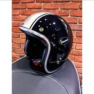 Vespa偉士牌原廠精品安全帽 黑色