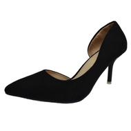 !!ลดราคาพร้อมส่ง!! ร้องเท้าส้นสูง รองเท้าแฟชั่น คัชชู เปิดข้างเท้าส้นเข็ม มาพร้อมส้นสูง 7 Cm. Fashion Lady Shoe #3329B