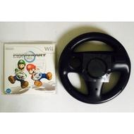 (原價2380)全新台灣公司貨Wii 原裝遊戲片-Wii 瑪俐歐賽車 同捆裸包+原廠方向盤