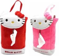 Hello Kitty絨毛面紙盒掛袋