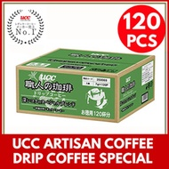 UCC Artisan Coffee Drip Coffee Special Blend 120 Sheets