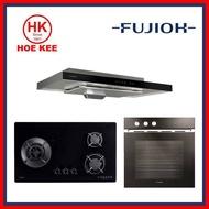 (HOB + HOOD + OVEN) Fujioh FH-GS5030 SVGL Glass Hob / FH-GS5030 SVSS Stainless Steel Hob+ Fujioh Slimline Hood FR-MS1990