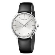 【Calvin Klein】CK 美式簡約皮帶腕錶40mm(K8M211C6)