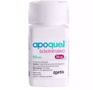 apoquel 16 mg แก้อาการคันระดับปานกลางถึงรุนแรงมาก 100 เม็ด