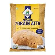 24 Mantra Organic 7 Grain Atta 1Kg Pack