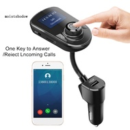 MISD USB Charge LCD Display Bluetooth Handsfree 5.0 Car MP3 Player FM Transmitter