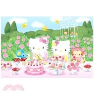908.Hello Kitty玫瑰園派對拼圖1000片