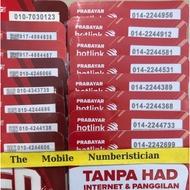 Maxis Nombor Vip Prepaid Hotlink Special Vvip Number Prepaid Simpack 010-(4343)