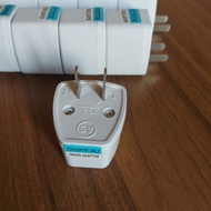 3-Pin to 2-pin converter plug for any electrical device (3-pin to 2-pin plug)