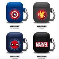 韓國正品漫威airpods蘋果耳機保護套鋼鐵人蜘蛛人美國隊長