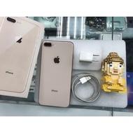 二手分享價 Apple iPhone 8 PLUS 64G 玫瑰金手機漂亮 手機未送修。機況良好【台南E時代手機】
