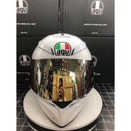 義大利 全新正品AGV K3-sv摩托車頭盔防霧全盔 男女通用賽車盔跑盔夏季 AGV K3-sv雙鏡片 內有墨鏡 安全帽
