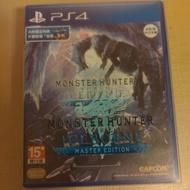 PS4 魔物獵人 冰原 iceborne 含鐵盒及結雲特典 台南