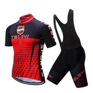 TELEYI Jersey, Cycling Retail, Black And Red Jersey M113