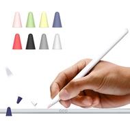 1 2 รุ่นซิลิโคนป้องกันหน้าจอสัมผัสปากกาป้องกันกรณีสำหรับ IPad Apple Pencil