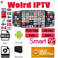 IPTV ADULT TV HD / VVIP 10000+LIVE CHANNEL FOR ANDROID DEVICE SMART TV MAG SUPPORT 3 DEVICE