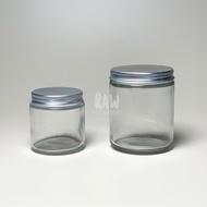 Transparent Glass Jar 120ml / 250ml