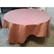 《營業用桌巾/桌布(7尺見方) 適用5尺圓桌》【餐廳、飯店、酒店、喜宴、流水席、辦桌、宴客、Buffet】