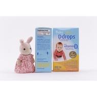 Tomorrow美國代購美國Ddrops 嬰兒維生素 D3 寶寶補鈣滴劑drops維生素D3 2.5ml90滴