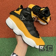 Air Jordan 6 Rings 六冠王 黑黃 女鞋322992-700