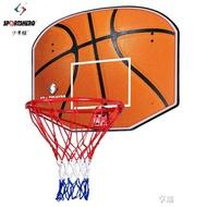 成人掛式籃球框籃球板 木質籃板鐵籃球筐 戶外標準籃球架ATF 享購