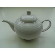 東昇瓷器餐具=大同強化瓷器白紋茶壺 AT-30114