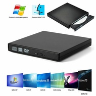 External USB 2.0 DVD RW CD Writer Slim Drive Reader Player For For All Laptop PC