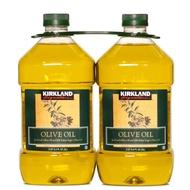 好市多代購-科克蘭 純橄欖油 3公升 X 2入/組-有效日2022月