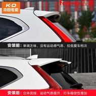 耀星專用于17-19款CRV改裝運動尾翼5代CRV混動帶燈尾翼烤漆頂翼免打孔好貨!