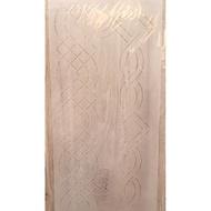 刺繡拼布壓花模版 拼布板型 壓線板 手工拼布皮革材料