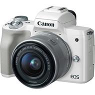 Canon EOS M50 雙鏡組 ( 15-45 55-200 KIT ) 佳能公司貨