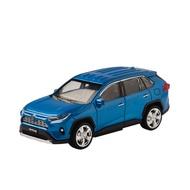 TOYOTA RAV4 LED迴力車 藍/白
