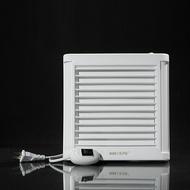 排氣扇 特價百葉4寸衛生間浴室排風扇壁式窗式帶開關排氣扇抽風機單向 霓裳細軟