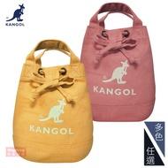 KANGOL 側背包 韓版玩色系列 經典大LOGO帆布 斜背包 水桶包 手提包 AKG1214 得意時袋