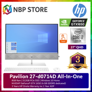 HP Pavilion 27-d0714D 27'' QHD Touch All-In-One Desktop PC