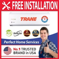 Trane 1HP / 1.5HP / 2HP / 2.5HP R32 5 Star Inverter Air Conditioner (MYWE09GB5) 1.0HP Aircond with Auto Clean Function, FOC Professional Aircond Installation in Covered Area
