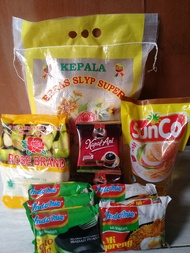 Paket Sembako Murah 1 - Beras, Minyak, Gula, Kopi, Mie