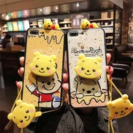 Cartoon bears OPPO R17 AX7 Pro F9 F7 F5 A3S AX5 mobile phone shell A3 A7 A77 Protective shell case A