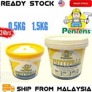 0.5KG / 1.5KG PENTENS Putty Filler Putty Filler / Cellulose Wall Filler / Filler Dinding / Lubang / HOLE