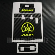 New Motorcycle iu unit wrap Yamaha Xmax fluorescent  yellow