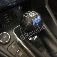 原廠RS排檔頭碳纖維卡夢Focus Fiesta手排6速 美國進口MK3 MK3.5 ST可用 福特改裝Ford