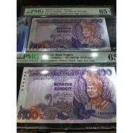 5th Series Malaysia Ringgit $100 - 2Running