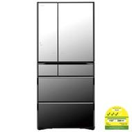 Hitachi R-ZX670JS 6-door fridge 722L with Free Air Purifier & Wrist BP Monitor