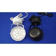 LED-12珠碗公燈加夾子電源線(夜市燈,軌道燈,碗公燈,投射燈,服飾燈,廚櫃燈)台灣製造 免運費 滿二千