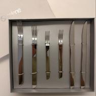 義大利Selene 6件 不鏽鋼刀叉組
